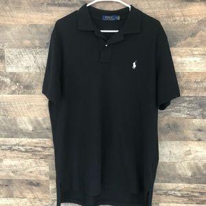 Large Polo Ralph Lauren Black Short Sleeve Shirt